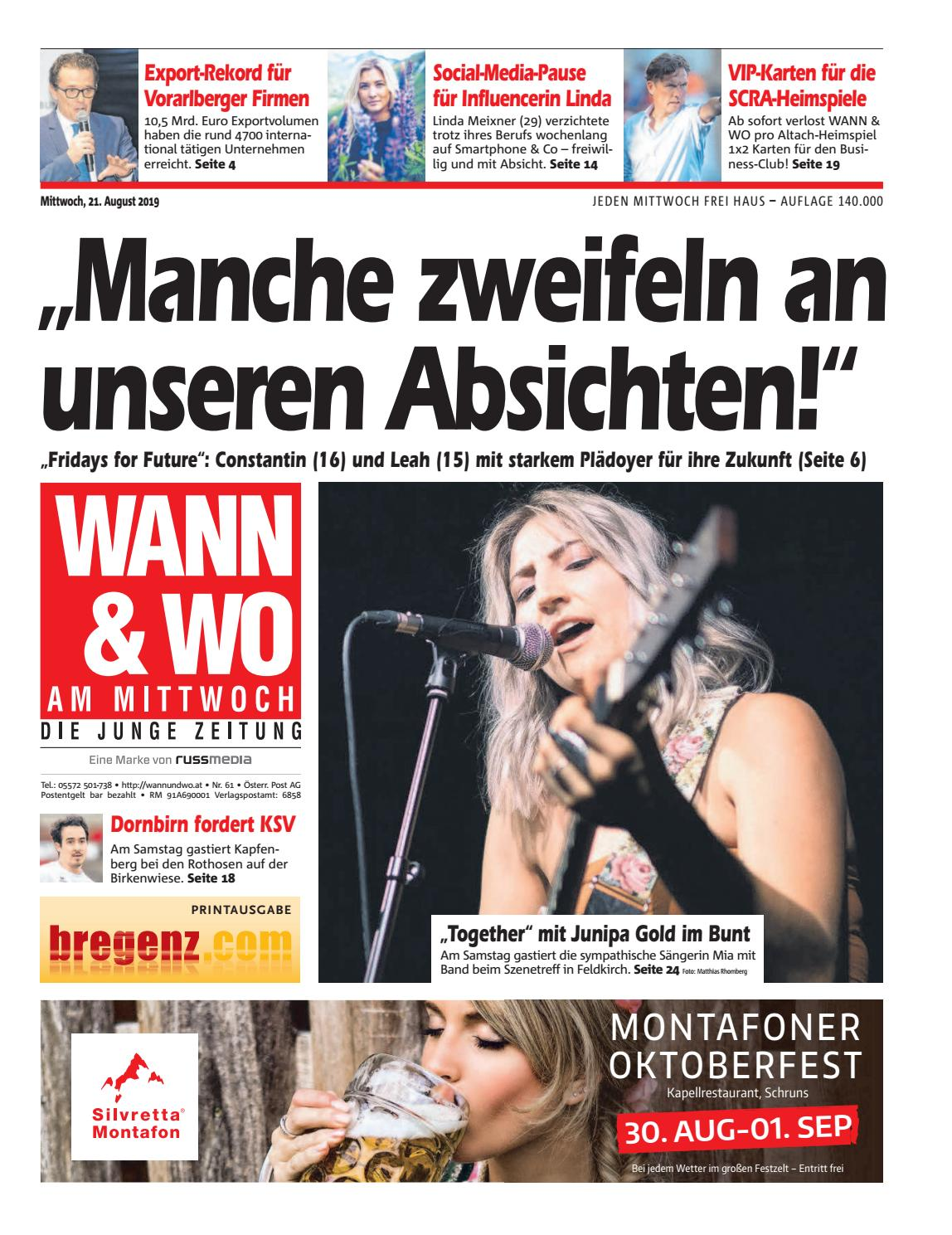 Vorarlberg frau aus sucht mann - Mhldorf bei feldbach frauen