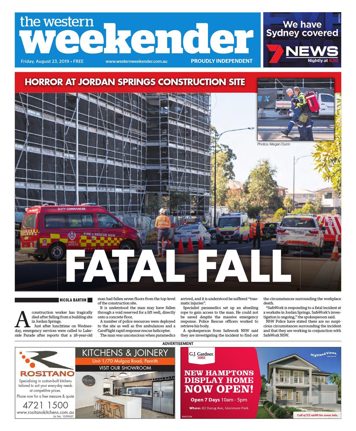 Western Weekender August 23 By Sydney Publishing