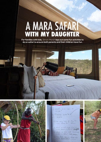 Page 40 of A Mara Safari with my Daughter