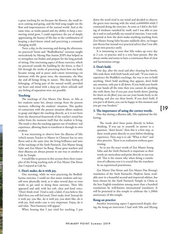 Page 19 of Just Do It and Enjoy: Kyol Che in Gak Su Temple