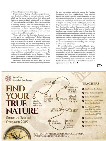 """Page 25 of Book Review—The Mountains and Waters Sutra: A Practitioner's Guide to Dogen's """"Sansuikyo"""""""