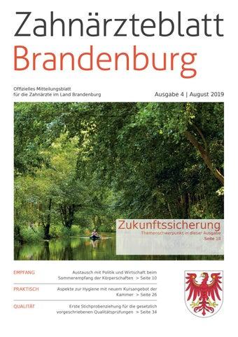 ZBB Ausgabe 42019 by KZVLB issuu
