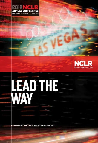 2012 NCLR Annual Conference Program Book by UnidosUS - issuu