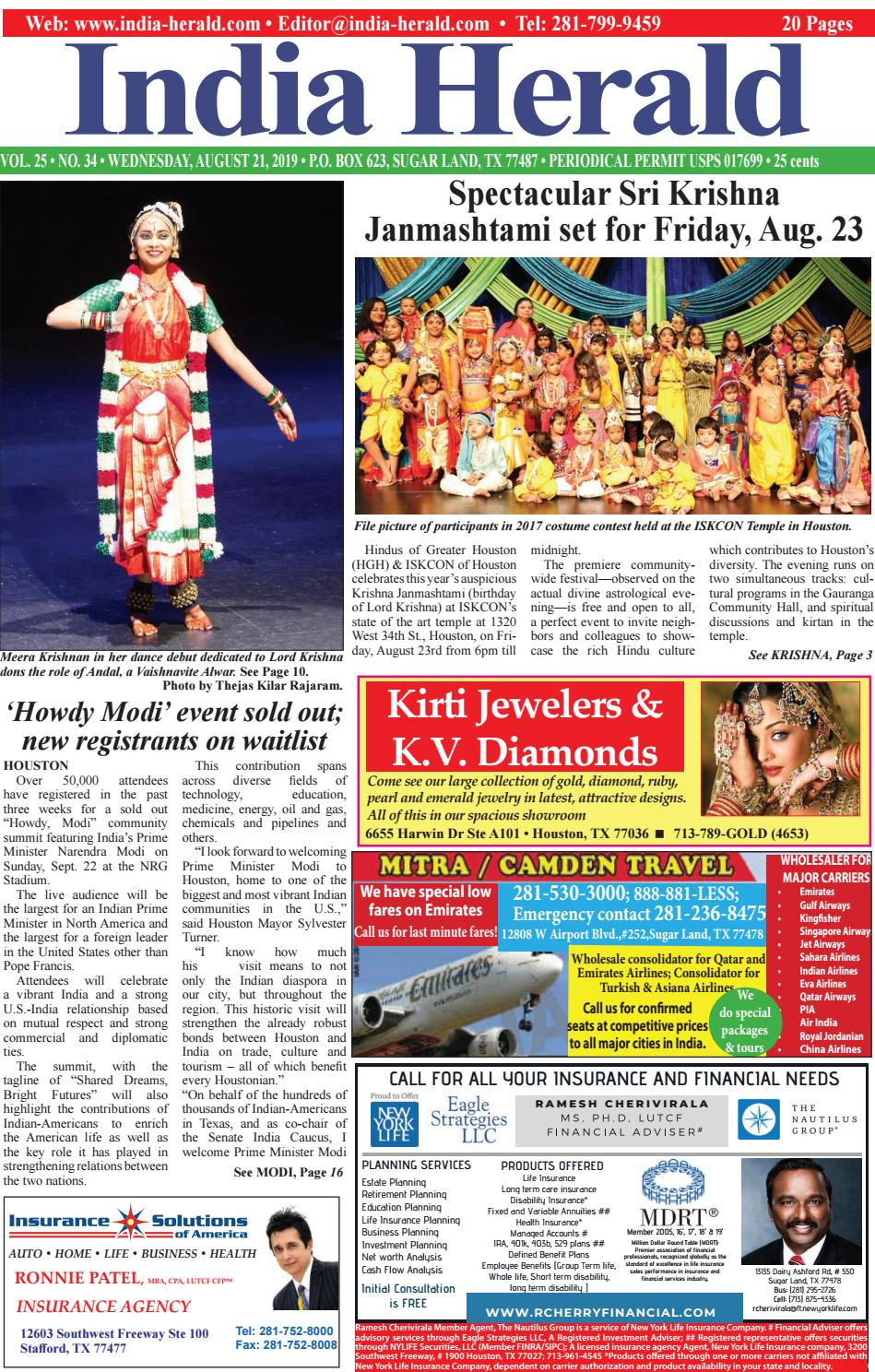 India Herald 082119 by Fort Bend Independent - issuu