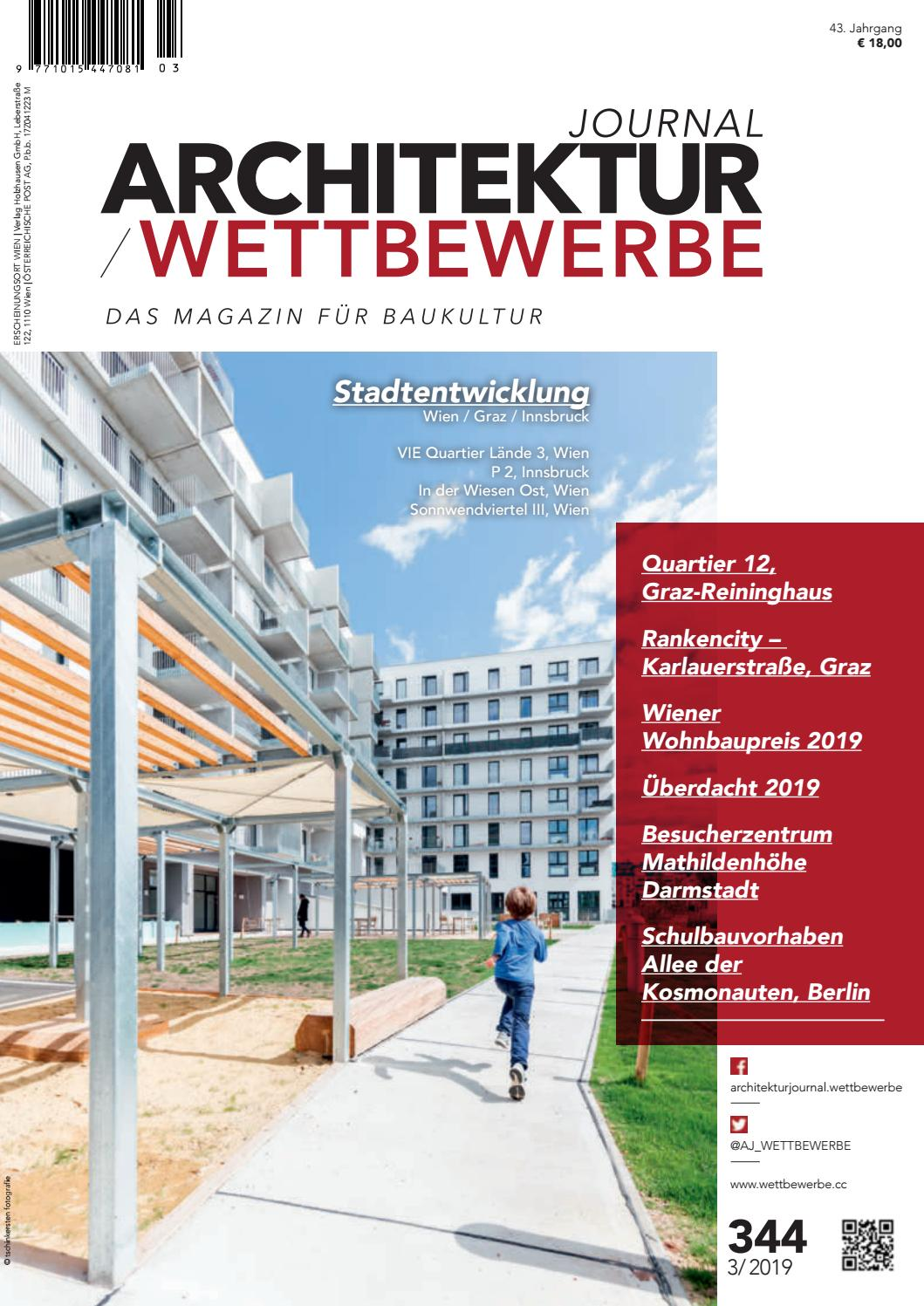 where to buy low price sale detailed images ARCHITEKTURJOURNAL / WETTBEWERBE 3/2019 (344) by ...