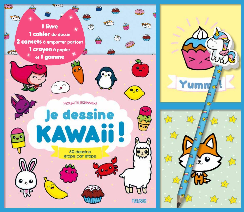 Coffret Je Dessine Kawaii By Fleurus Editions Issuu