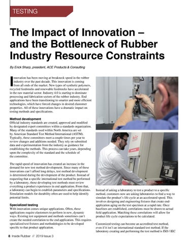 Page 8 of The Impact of Innovation - and the Bottleneck of Rubber Industry Resource Contraints