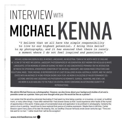 Page 16 of Interview with Michael Kenna