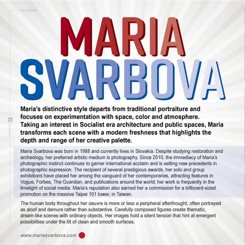 Page 26 of Interview: Maria Svarbova