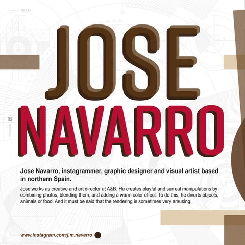 Page 6 of Jose Navarro: Visual Story