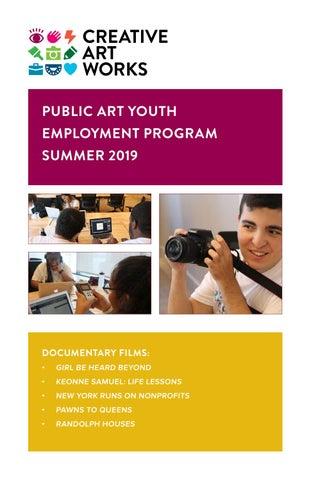Creative Art Works 2019 Summer Documentaries by Creative Art