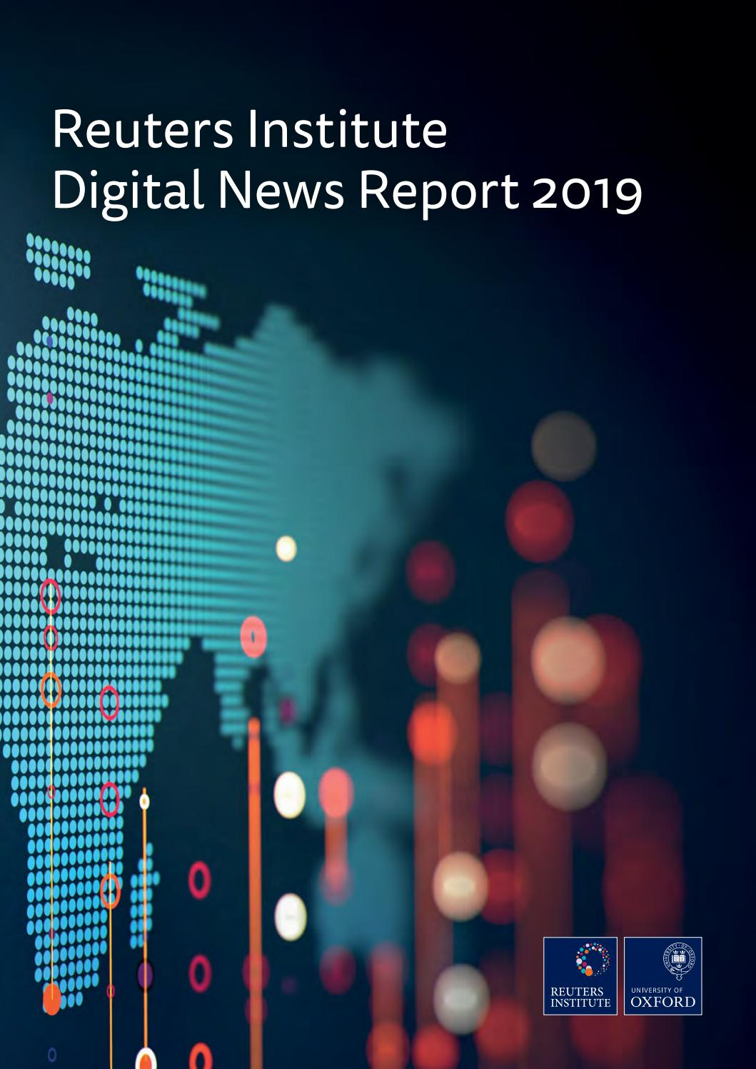 Reuters Institute   Digital News Report 25 by MonitoR magazine ...