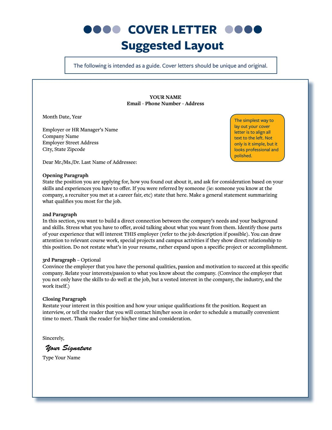 Sample Cover Letters by CalCareerCenter - issuu