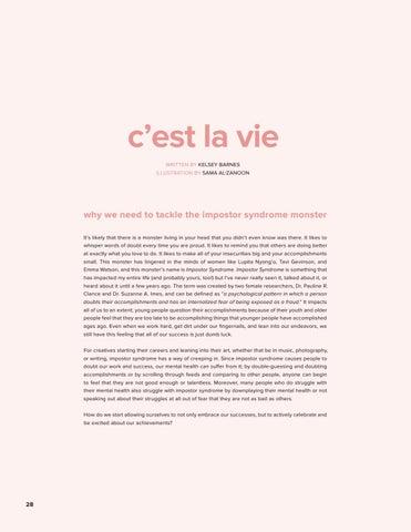 Page 28 of C'est La Vie