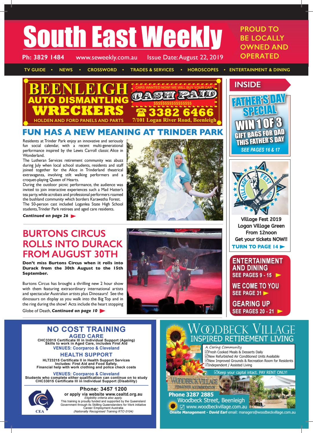 South East Weekly Magazine August 22 2019 By South East Weekly