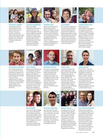 Page 21 of Second Year - Individual Profiles