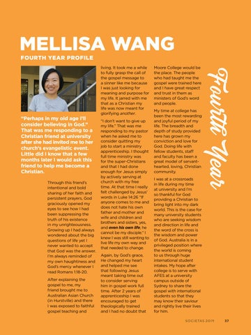 Page 39 of Mellisa Wang - Fourth Year Profile
