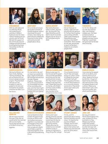 Page 41 of Fourth Year - Individual Profiles