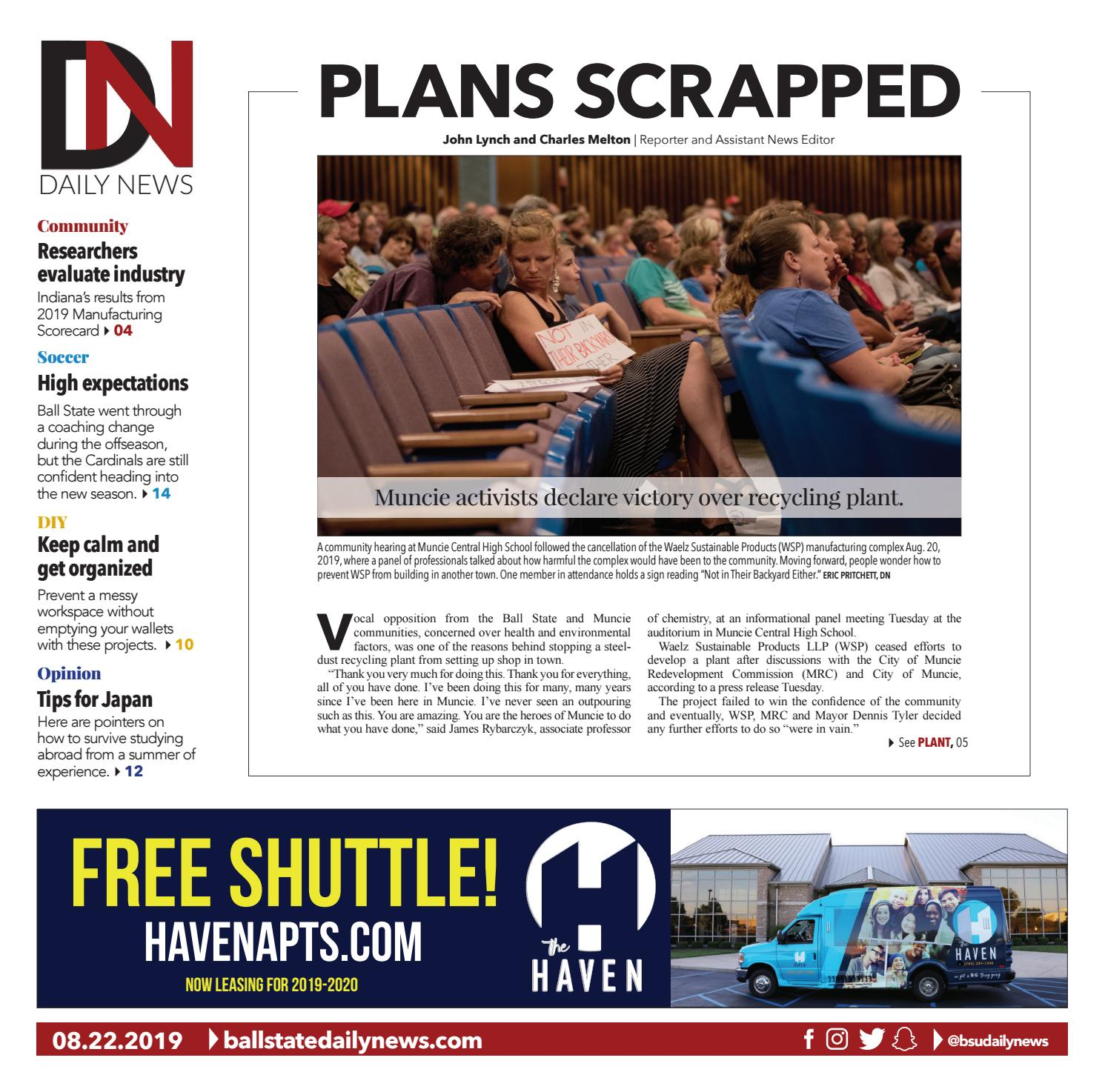 BSU 08-22-19 by The Ball State Daily News - issuu