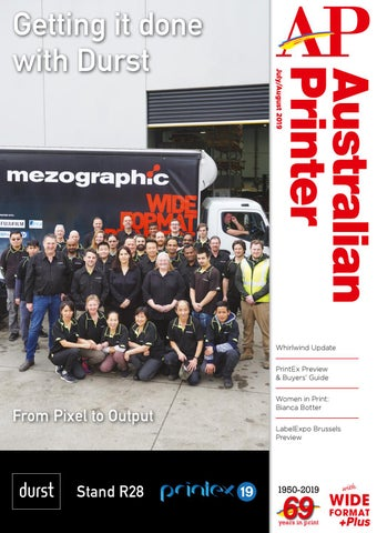 Australian Printer July August 2019 by The Intermedia Group