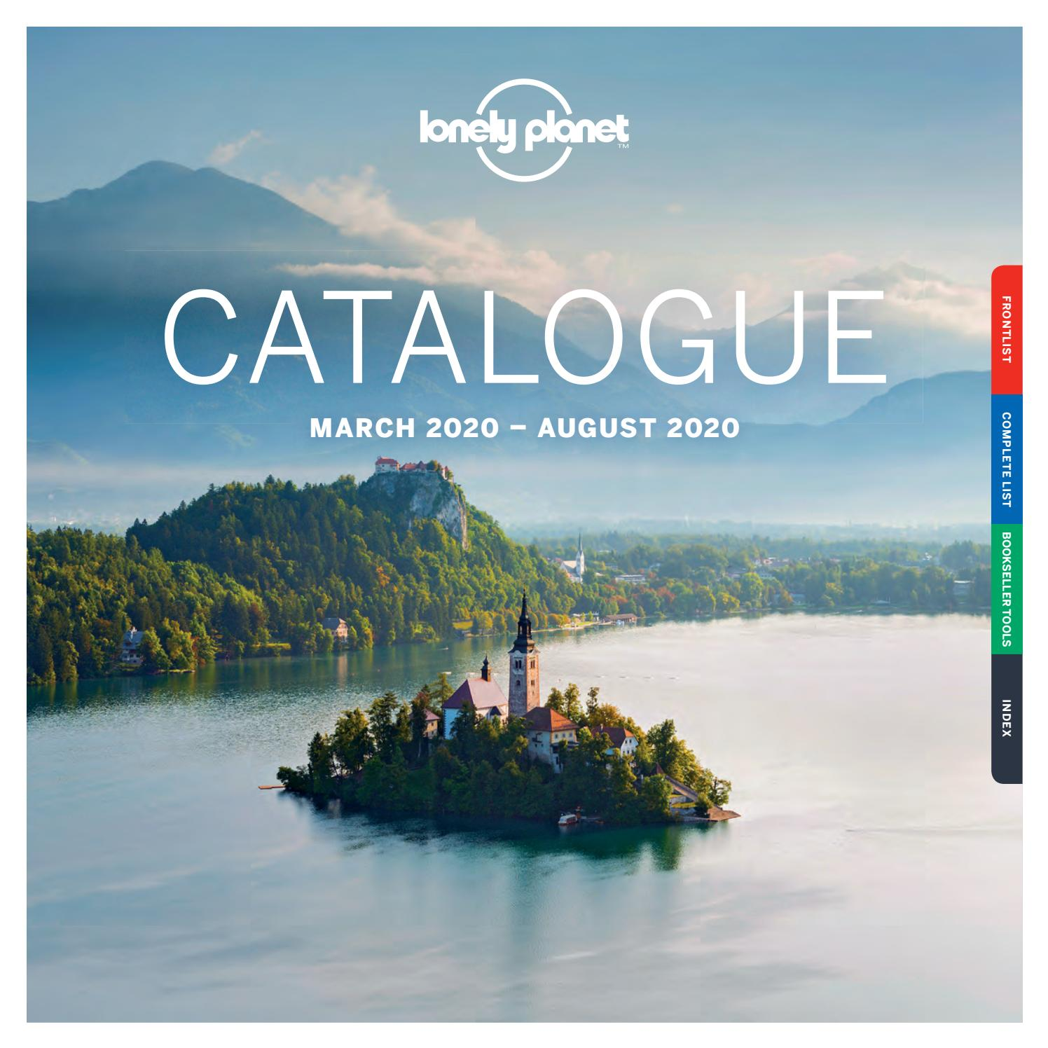 Lonely Planet Catalogue March 2020 - August 2020 - UK/EMEA by Lonely Planet  Marketing - issuu