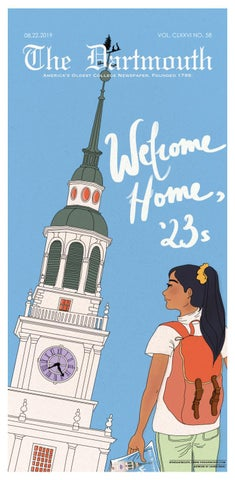 The Dartmouth Freshman Issue 2019 by The Dartmouth Newspaper
