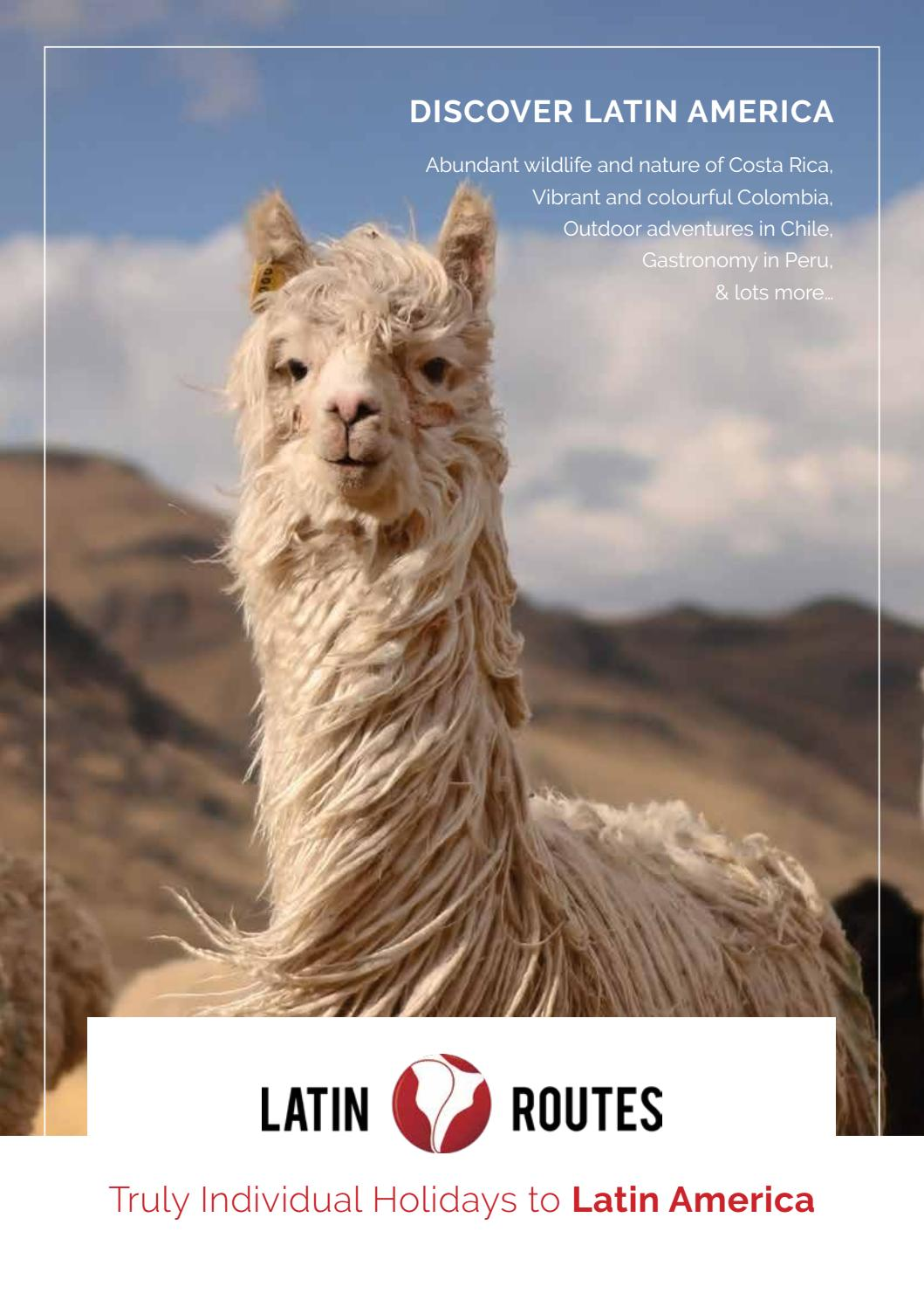 Latin Routes By Travel Designers Issuu