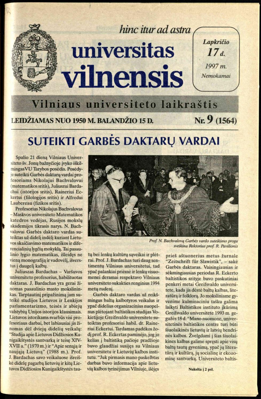 VILNIAUS GEDIMINO TECHNIKOS UNIVERSITETAS Roberta