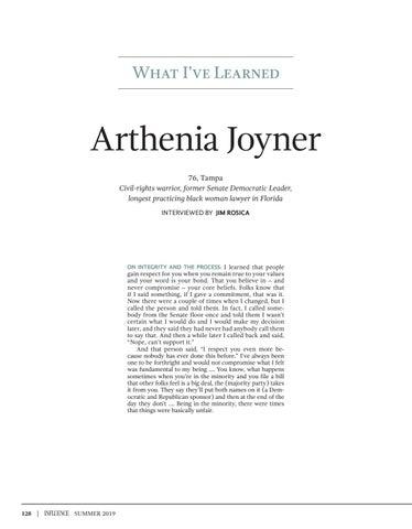Page 130 of What I've Learned - Arthenia Joyner