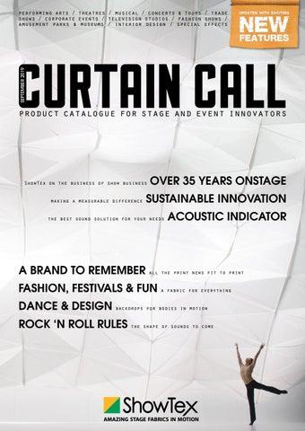 ShowTex Curtain Call (English) by ShowTex - issuu