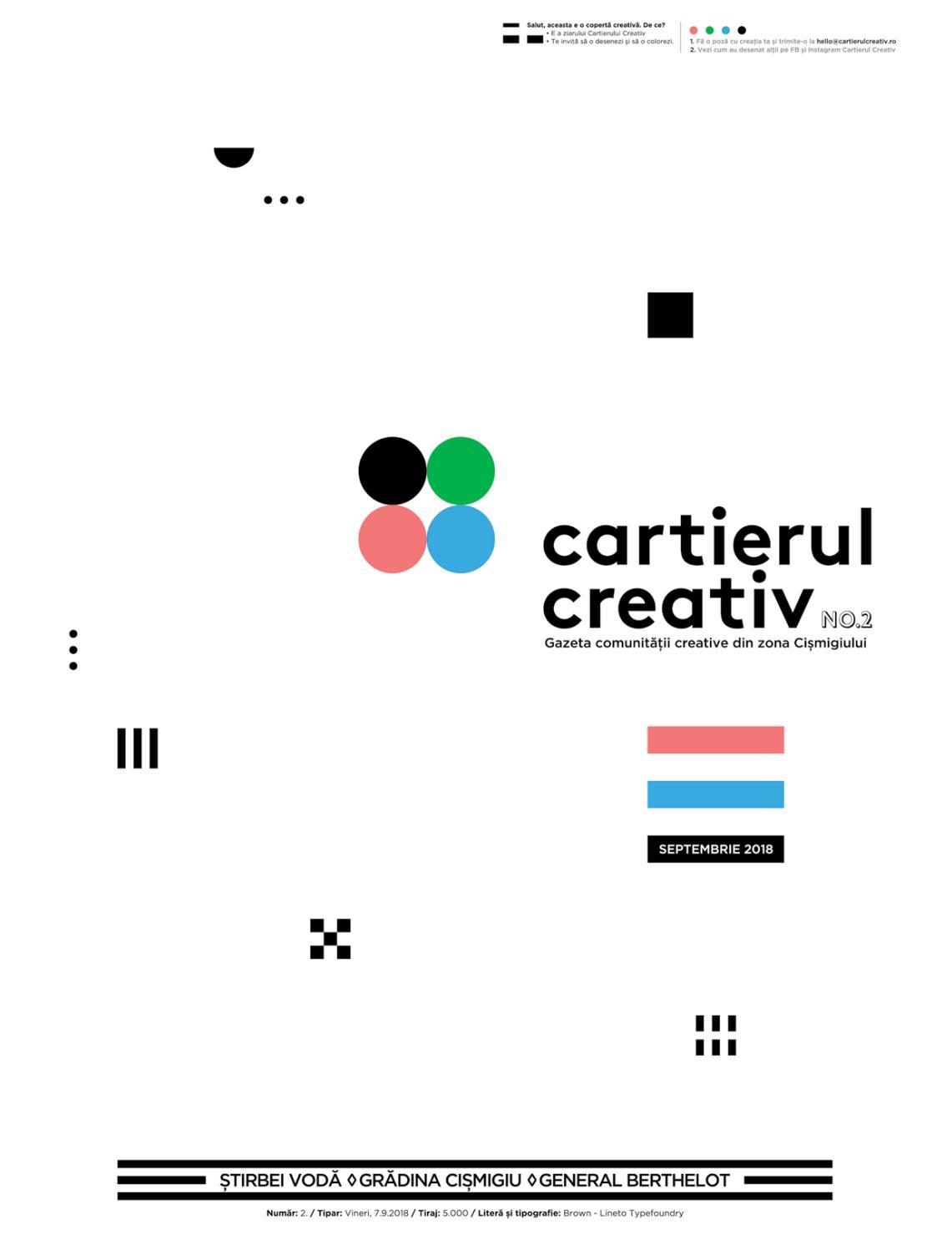 Cartierul Creativ Newspaper Issue No 2 By The Institute Issuu