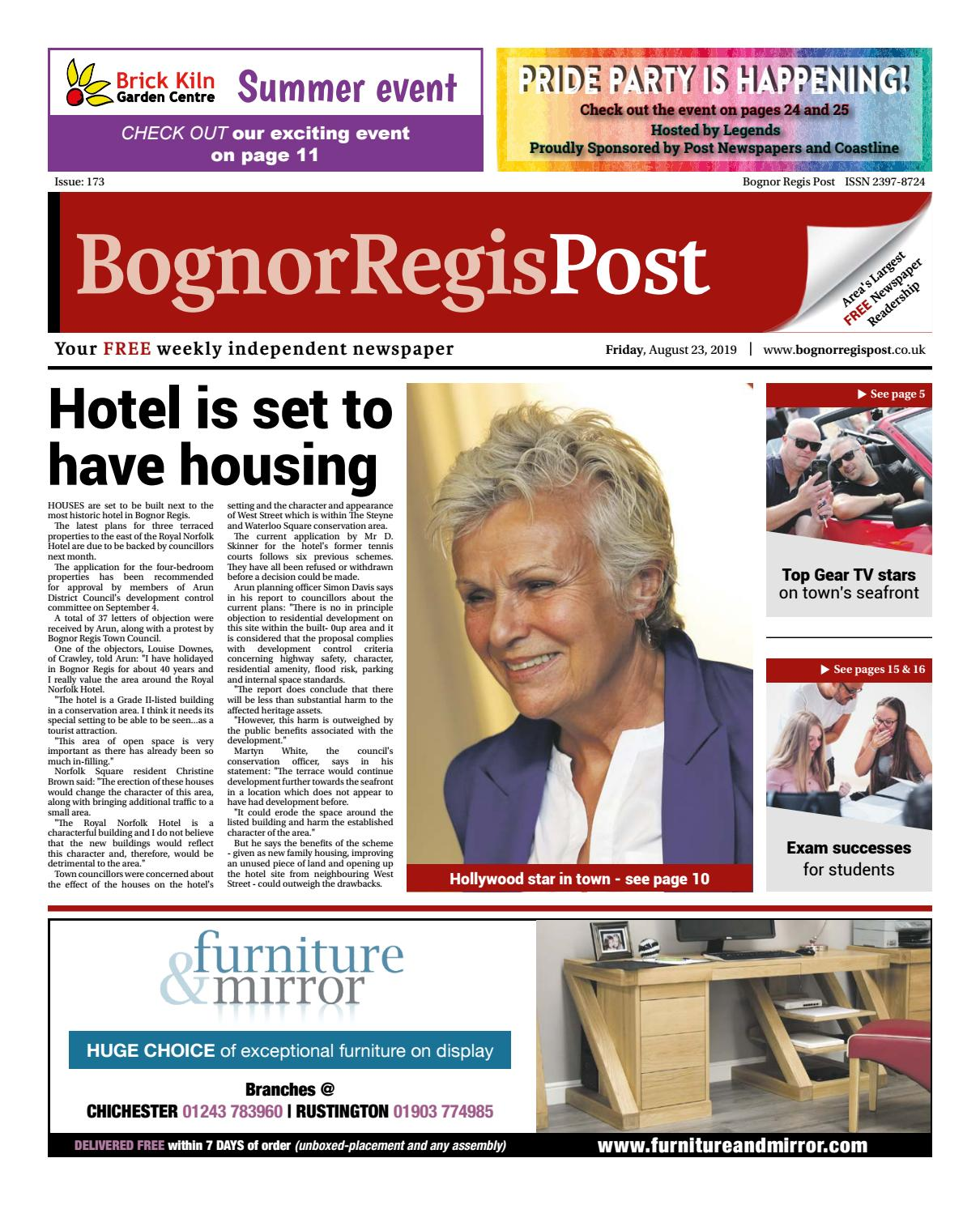 Bognor Regis Post Issue 173 by Post Newspapers - issuu