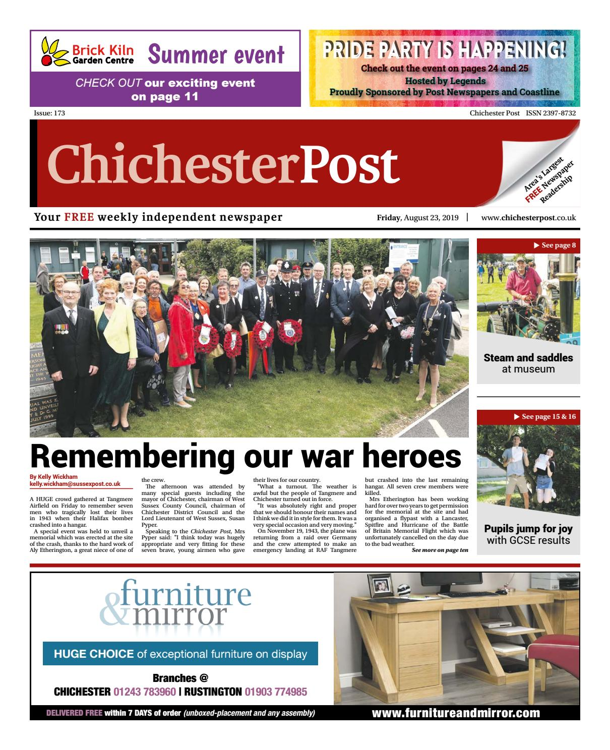 Chichester Post Issue 173 By Post Newspapers Issuu