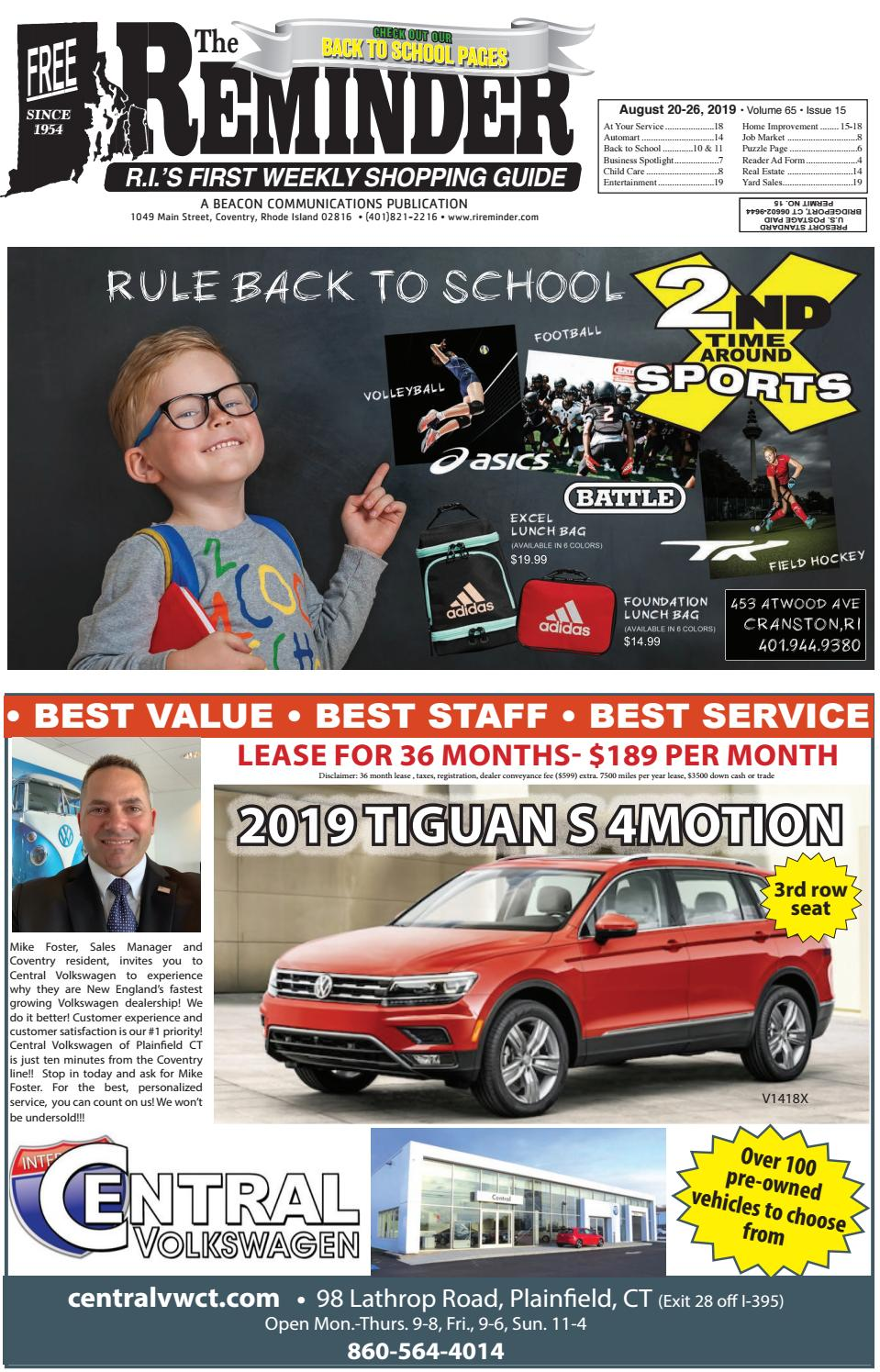 The Reminder August 20 26 2019 By Beacon Communications Issuu