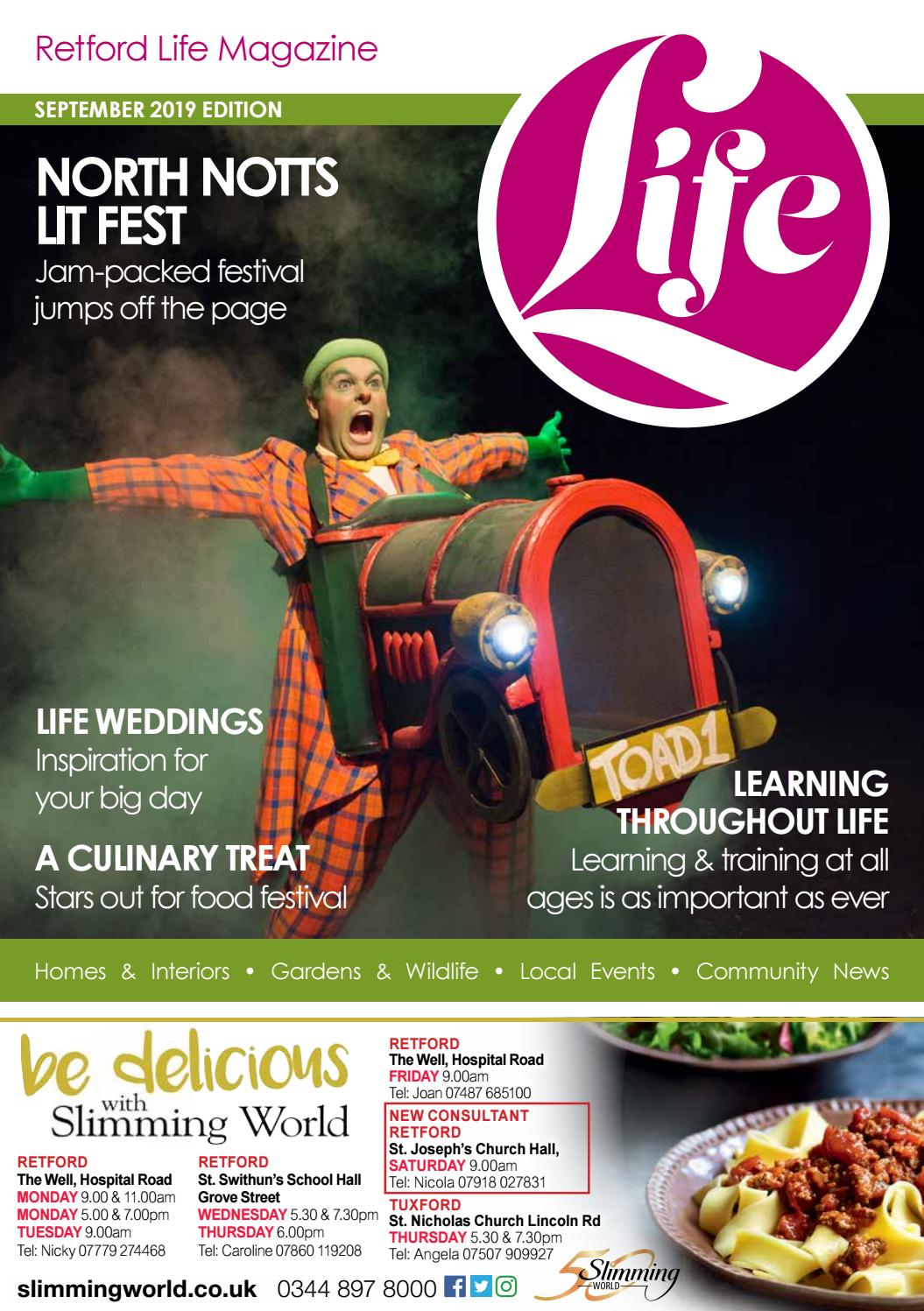 Retford Life Magazine September 2019 By Life Publications