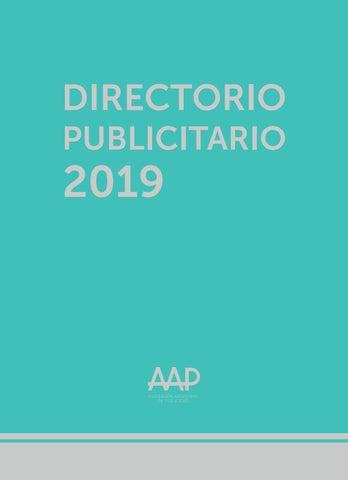 Directorio By Estudioperezdisenio Issuu