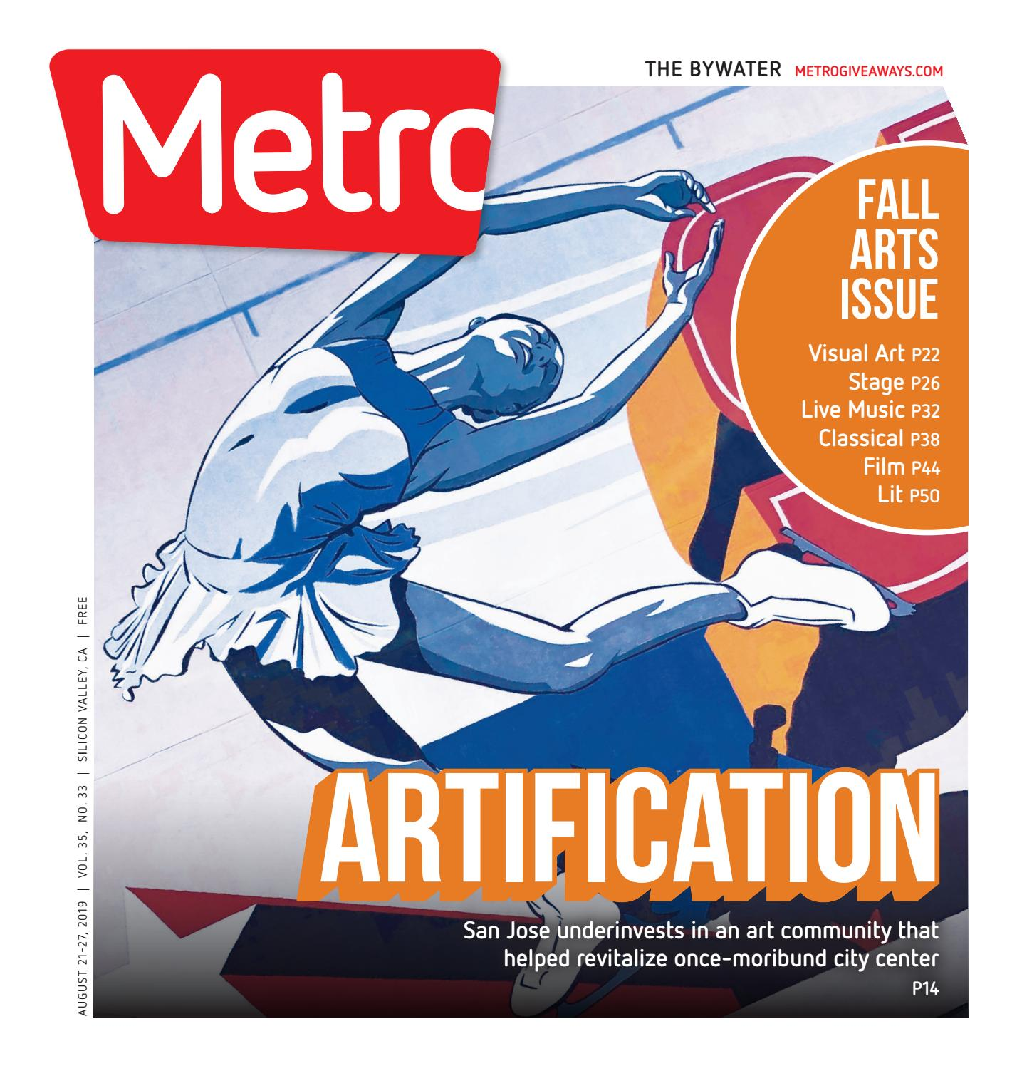 Metro Silicon Valley August 21-27, 2019 by Metro Publishing