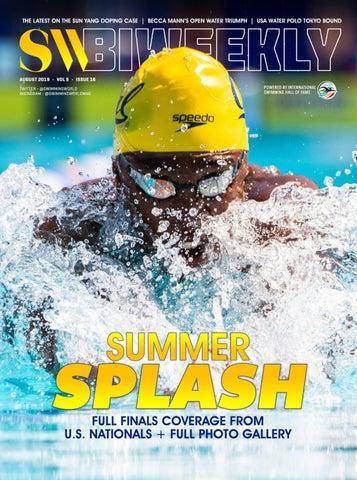 SW Biweekly August 21, 2019 by Swimming World Magazine - issuu