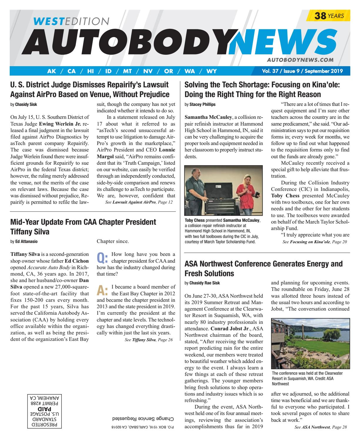 September 2019 West Edition by Autobody News - issuu