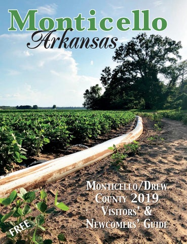 Monticello Arkansas Visitors Newcomers Guide By Fox Print And