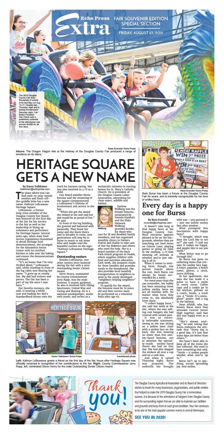 Douglas County Fair Souvenir 2019 by Echo Press - issuu