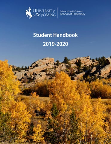 2020 Wyoming State Science Fair Logo Contest.School Of Pharmacy Student Handbook By University Of Wyoming