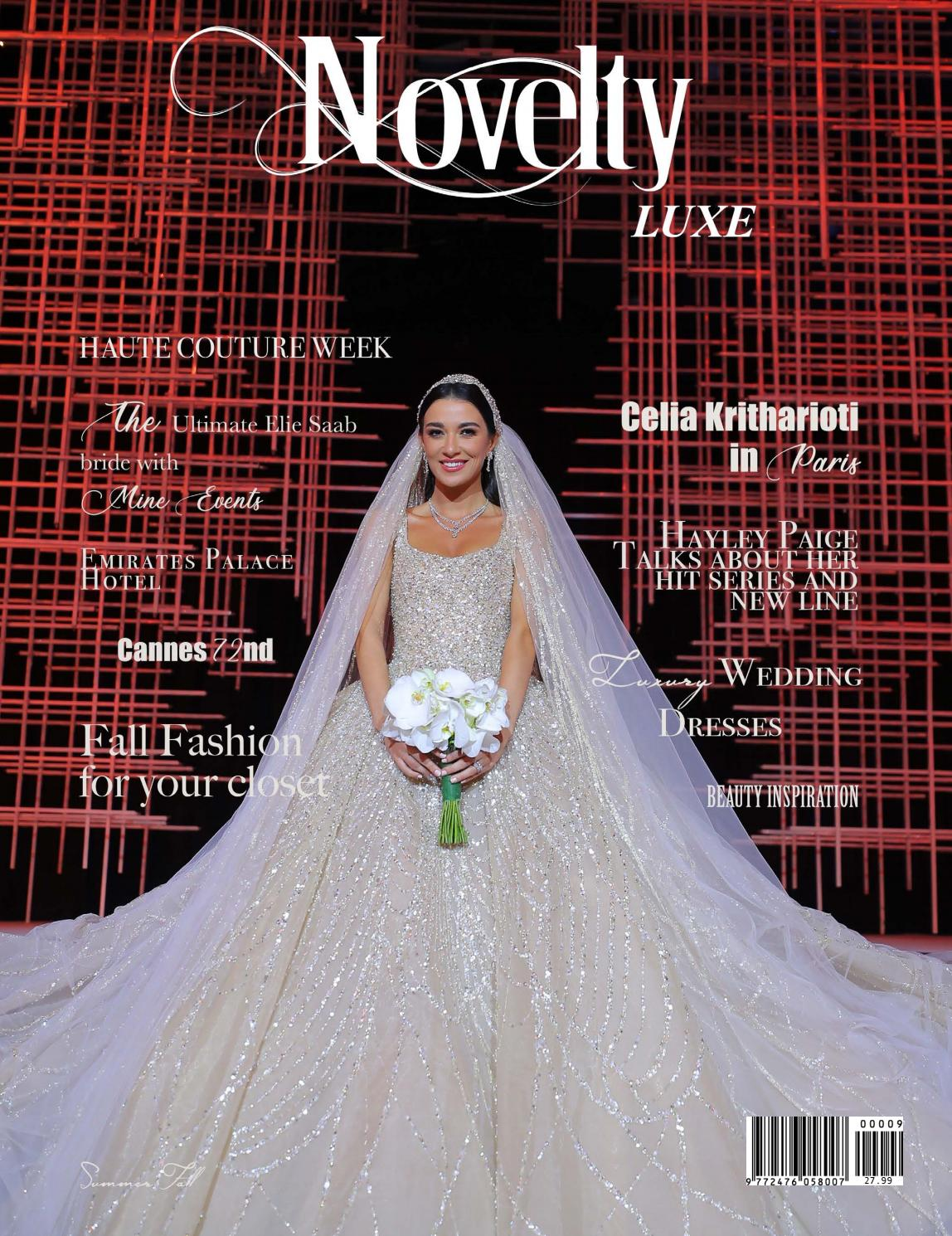 Novelty Luxe Magazine The Million Dollar Wedding Edition by ...