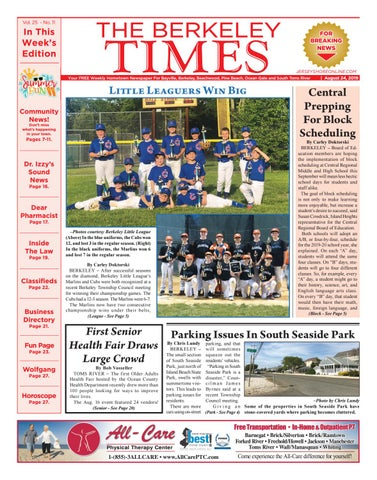 2019-08-24 - The Berkeley Times by Micromedia Publications
