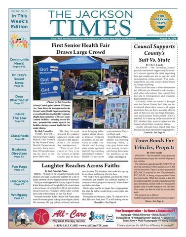 2019-08-24 - The Jackson Times by Micromedia Publications