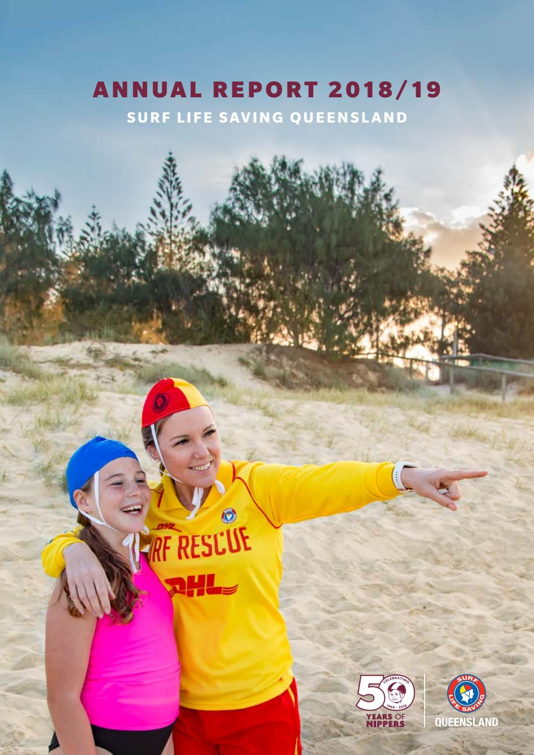 2018/19 Annual Report by Surf Life Saving Queensland - issuu