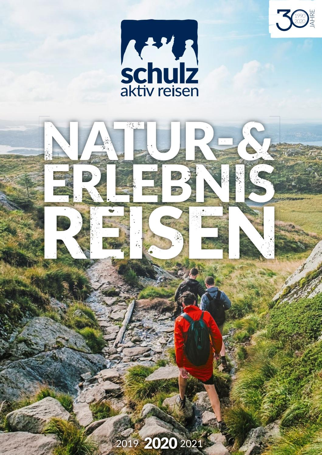 schulz aktiv reisen – Natur und Erlebnisreisen 2019 20 by