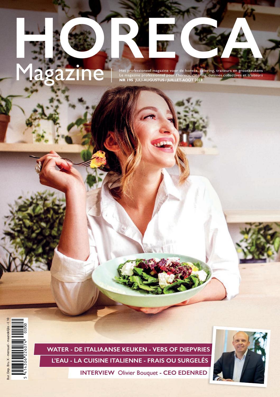 Horeca Magazine 195 By Services Pro Issuu