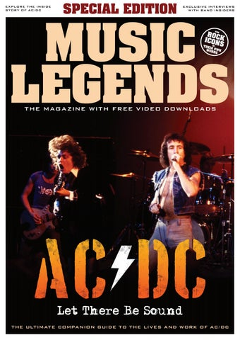 Music Legends Ac Dc Special Edition By Music Legends Magazine
