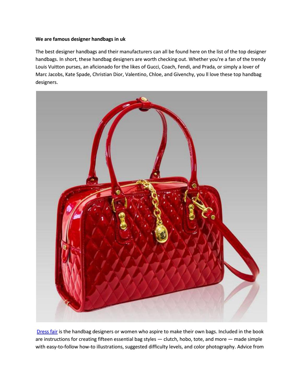 We Are Famous Designer Handbags In Uae